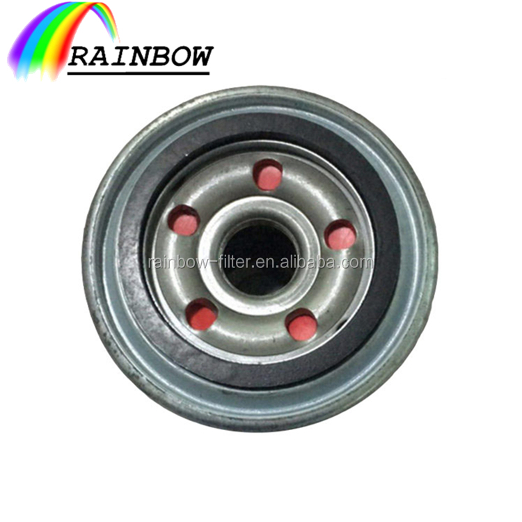Generator wholesale auto oil filter 26300-35503 with flat O ring for Hyundai