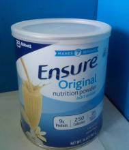 Ensure Original Nutrition Powder Add Water 9g Protein Vanilla 14 Oz