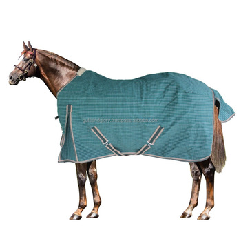 Horse Canvas Rug With Half Lining