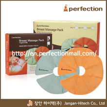 Hot selling korean Breast massage pack with jade And red clay-hot cold
