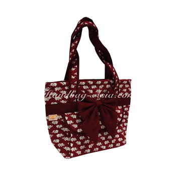 Thai Elephant Pattern Quilted Cotton Bags Factory Bag Shoulder Product On Alibaba