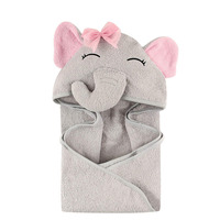 elephant baby hooded towel ,cotton /bamboo baby hooded bath towel