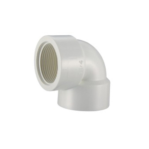 Factory price BS 4346 PVC Female Elbow UPVC Thread Fittings