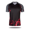 new pattern sublimated cricket jersey custom design cricket team uniform