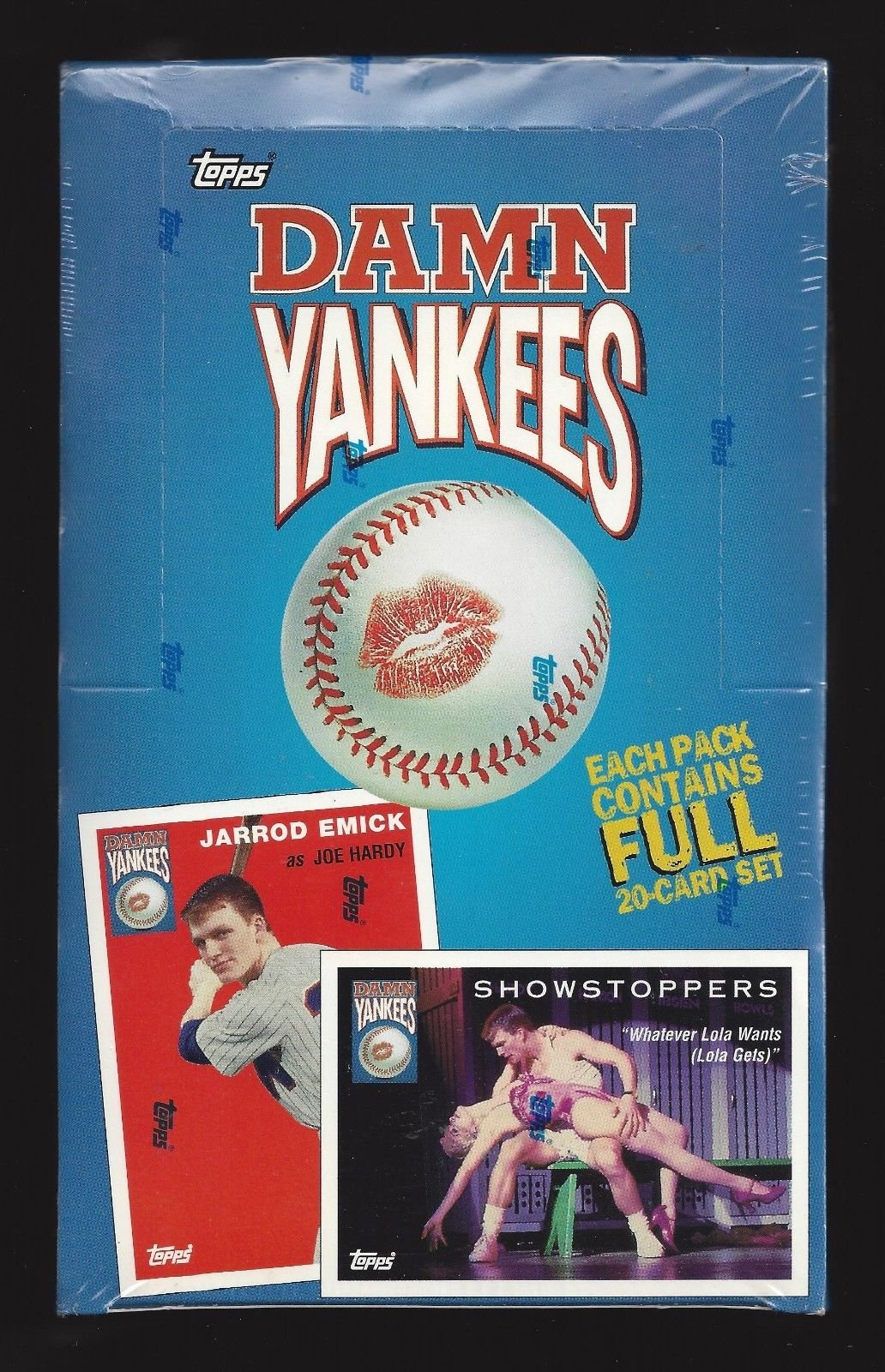 "Victor Garber ""DAMN YANKEES"" Bebe Neuwirth 1994 Topps Collector's Baseball Cards"