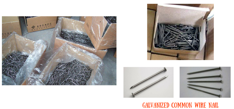 Produce building wire nails