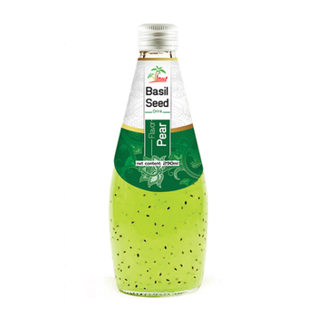 290ml Pear flavour Basil seed Drink