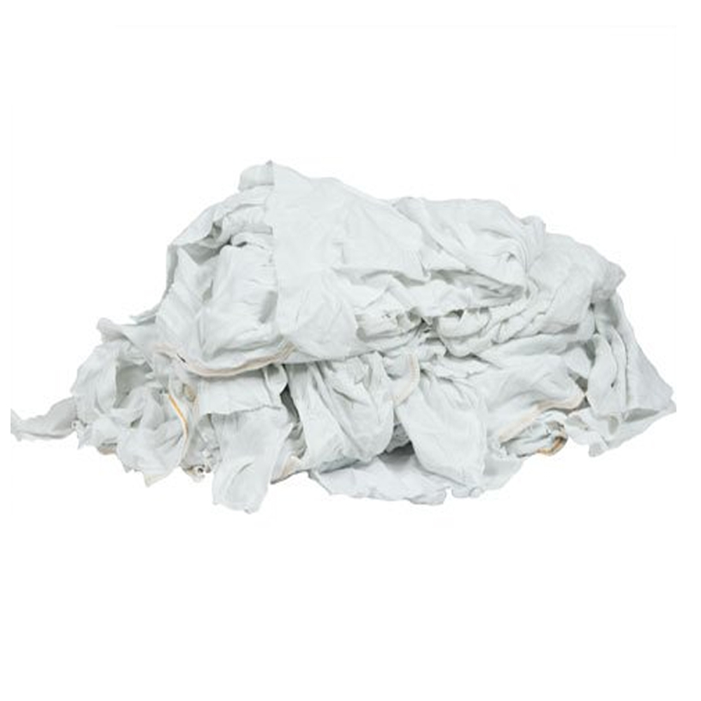 T shirt Wiping Rags / Cotton Clips Waste