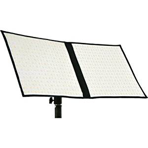 "Intellytech FL-80 Airlight Kit- Flexible LED Light Mat. 10""x20"" Panel, Bi-Color with Full Kit (Socanland) - V-Mount"