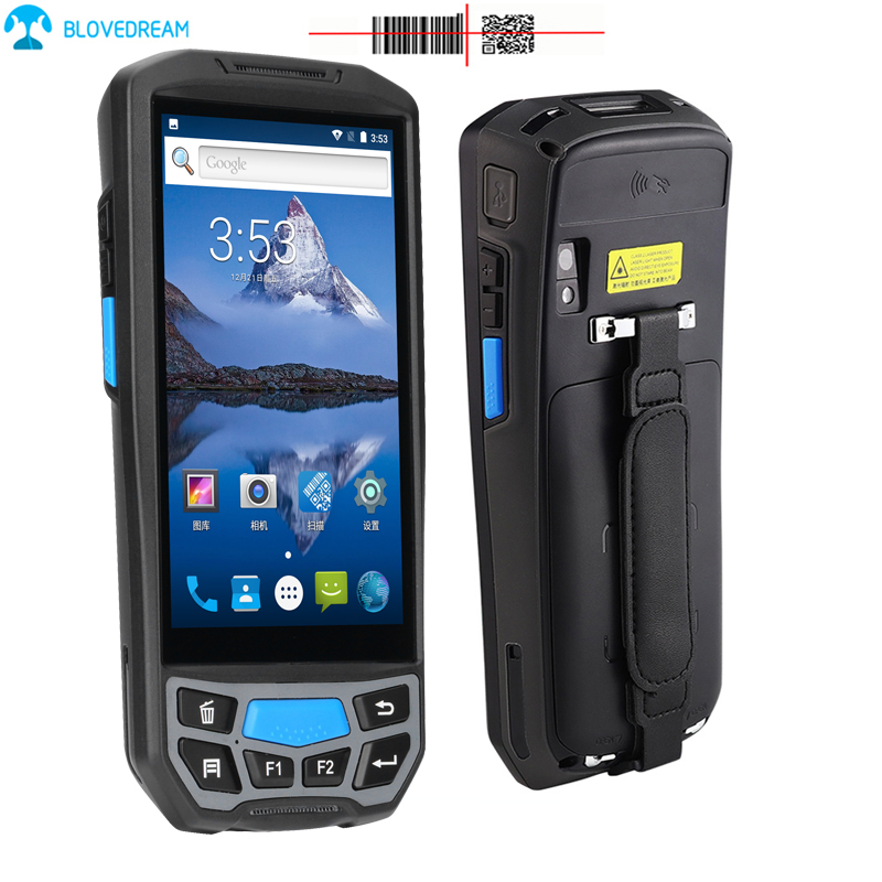 Rugged industrial mobile handheld devices cheap android <strong>tablet</strong> with rfid reader bar code scanner bluetooth pda qr code reader