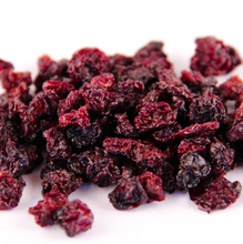 Healthy snack fruits freeze dried cherries