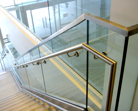 High quality handrails fixing accessories for glass staircase fittings