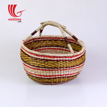 1f3db71dc2a9 Vietnam seagrass basket  seagrass bolga basket wholesale with cheap price