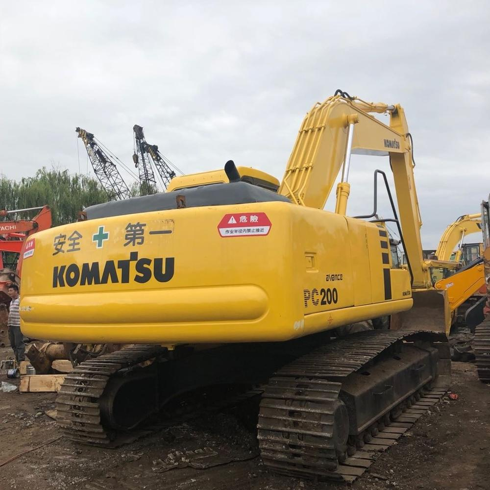 Strong Power Used Japan Komatsu Pc200-6 pc200-7 pc200-8crawler excavator for sale , Japan 20 ton used cheap excavators