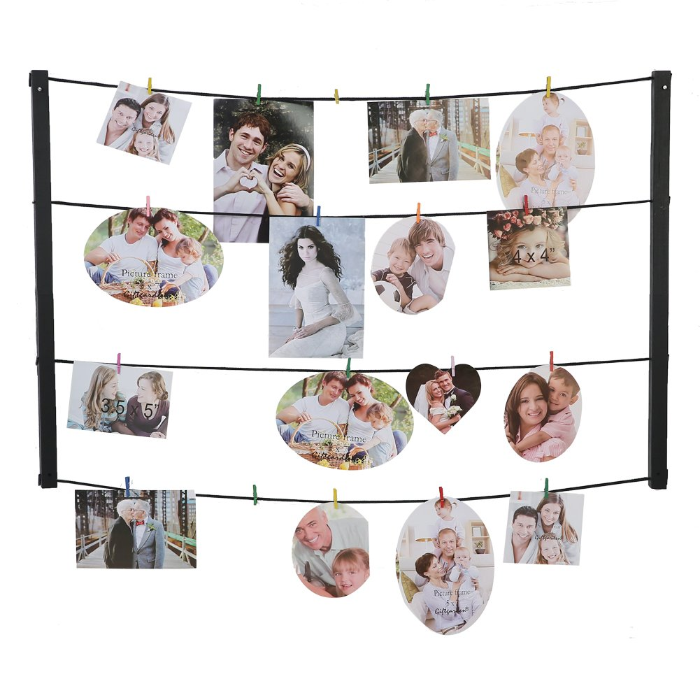 Gift Garden Photo Holder DIY Display Picture Frame 4x6 and 3.5x5 and 4x4