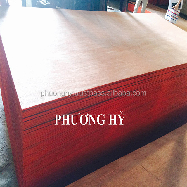 Plywood cheap and good quality face/back local wood size 4x8 from Vietnam
