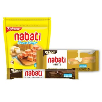Nabati Wafer Buy Wafer Biscuit Richeese Nabati Wafer Product On Alibaba Com