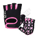 Custom half finger wrist straps exercise gym fitness gloves for weight lifting