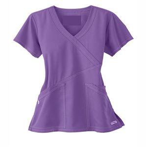 42%Polyester 55%Cotton 3%Spandex Fabric Medical Scrub Suit Uniform