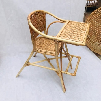 Egg Chair Rotan.Rattan Baby High Chair For Infant Toddle