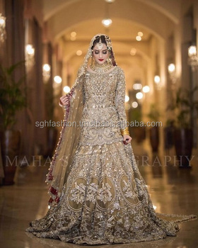 09786b2bd0 Most Beautiful Pakistani Wedding Bridal Dress 2019 - Buy Most ...