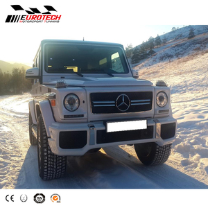 High quality W463 G63 style Conversion kit bodi kit front bumper fitting  for G-class W463 G350 G400 G500 g55 bumper 1990y-2017y