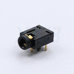 7P vertical plug inside copper ring 3.5 audio connector earphone socket