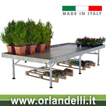 Premium Ebb And Flow Aluminium Garden Benches Tables Flowers Plants Equipment For Greenhouses Center