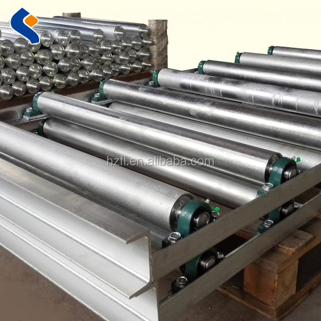 custom conveyor trough idler roller with bracket