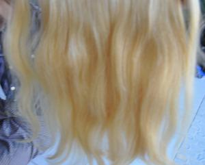 Clips Burmese Virgin Hair And Blond Pony Tail