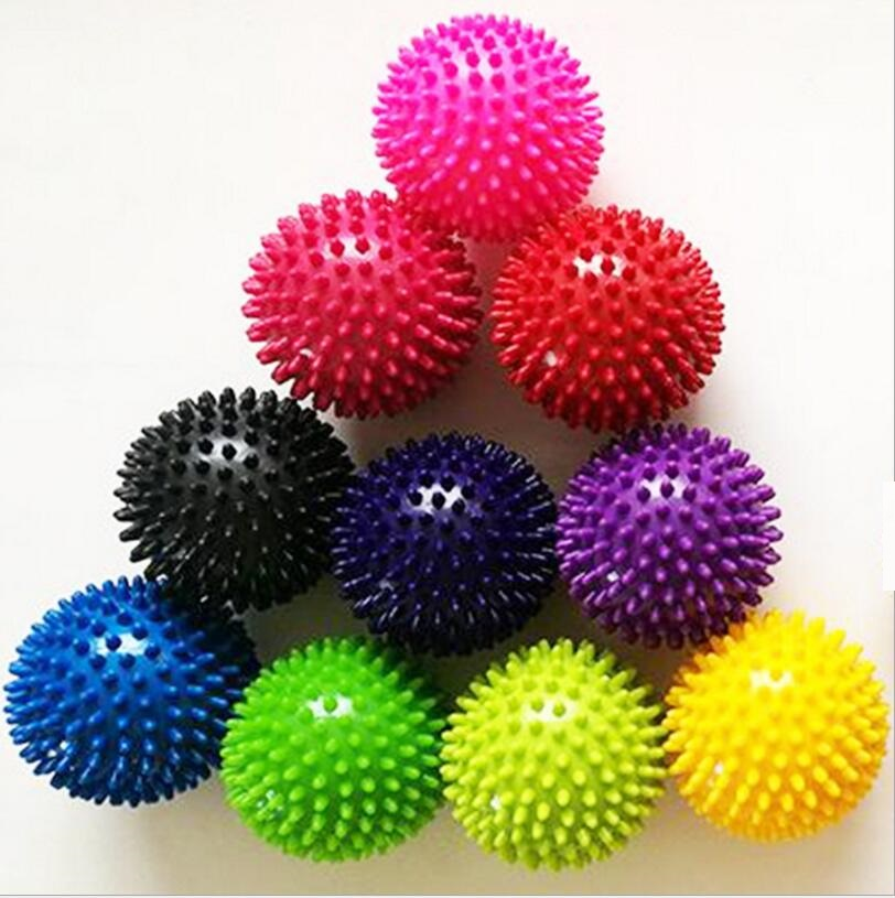 10CM Round High Density Hand Foot Spiky Massage <strong>Ball</strong>