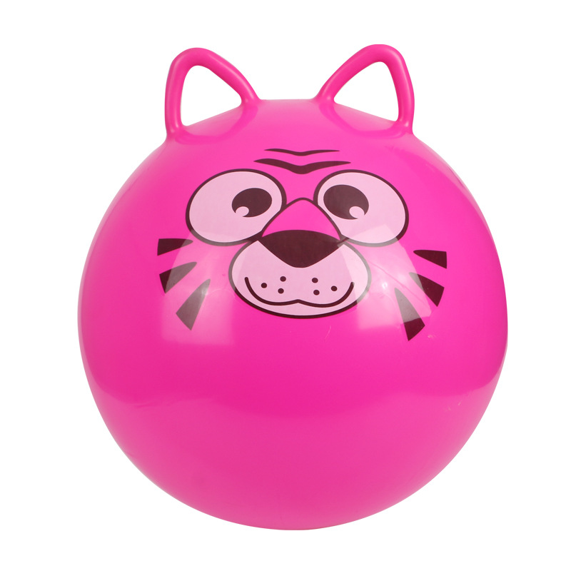 PVC Jumping Ball With Round Ears