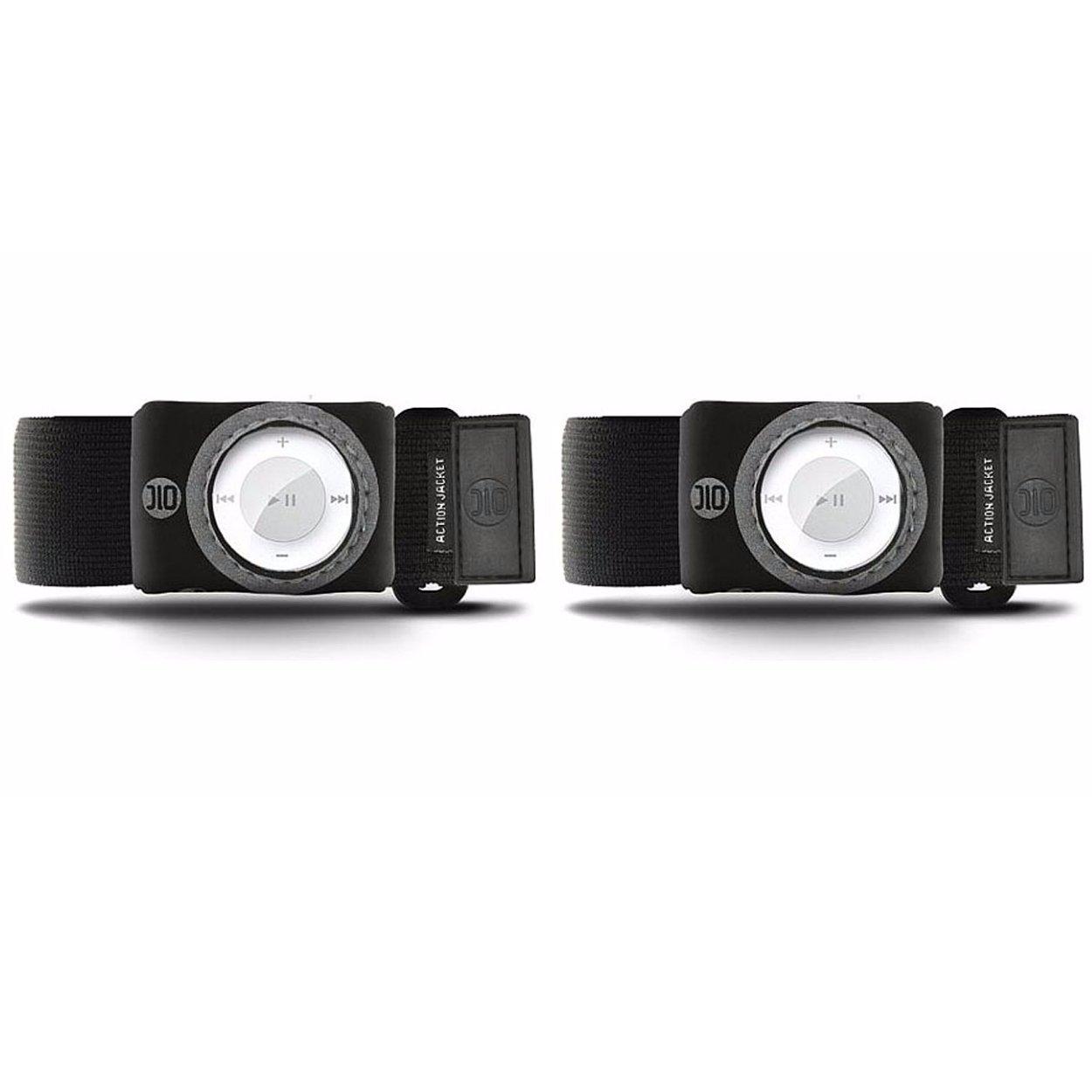 DLO 81619-17 Jacket Armband Case for iPod Shuffle 2G (Black) - Buy One, Get One Free