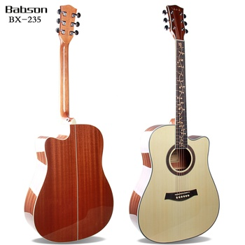 best selling guitar 41inch Sapele wood back, acoustic guitar