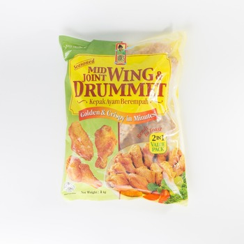 Singapore Food Suppliers Seasoned Mid-joint Wing And Drummet - Buy  Singapore,Chicken Wing,Frozen Finger Food Product on Alibaba com
