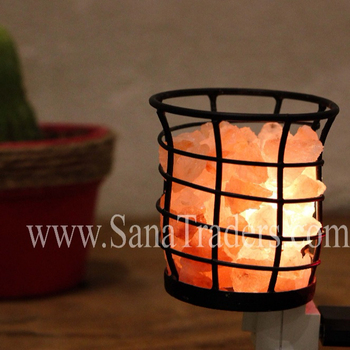 Iron Basket Night Light / Fancy Night Light / Chunks night light
