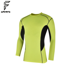 Spandex / Lycra Compression Green Clothes Sets Compression Shirts