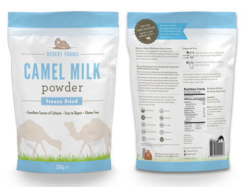 Grade A Camel Milk Powder