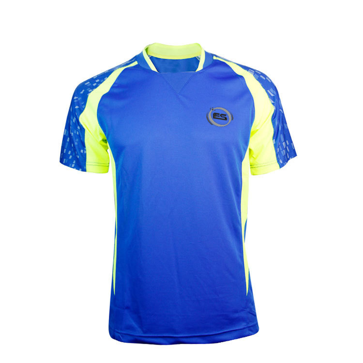 Quick Dry Top Quality Men Running Set Sportswear Suit Badminton Table Tennis Sublimated Shirt Clothes 2017 All New Designs