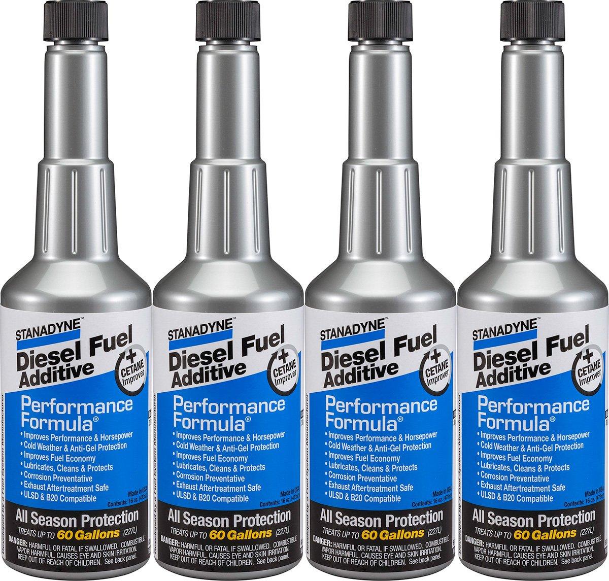 Stanadyne Performance Formula Diesel Fuel Additive - Pack of 4 Pint Bottles - Part # 38565