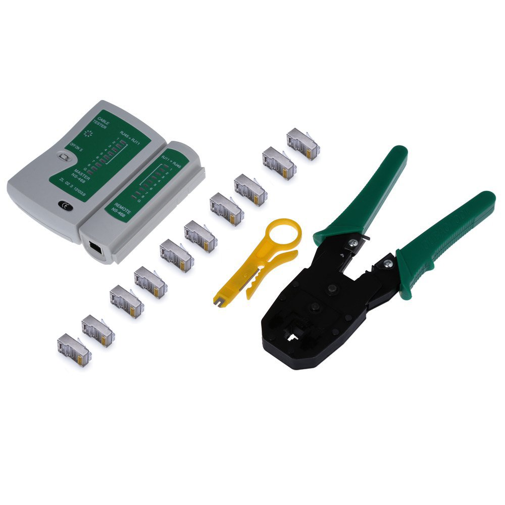 Cheap Cat 5 Wire Tester Find Deals On Line At Cat6 Wiring Block Kit Get Quotations Zoostliss Portable Ethernet Network Cable Rj45 Crimper Crimping Tool Punch Down Rj11