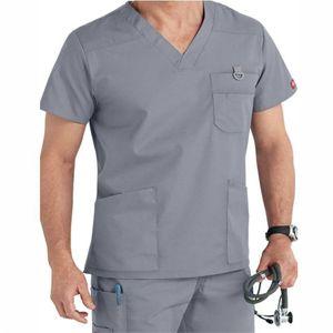 medical scrub uniform / hospital staff scrub uniform