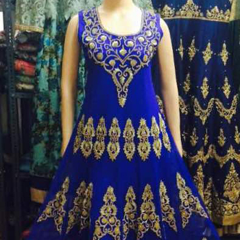 Georgette Indian stylish Anarkali Ladies salwar Suits