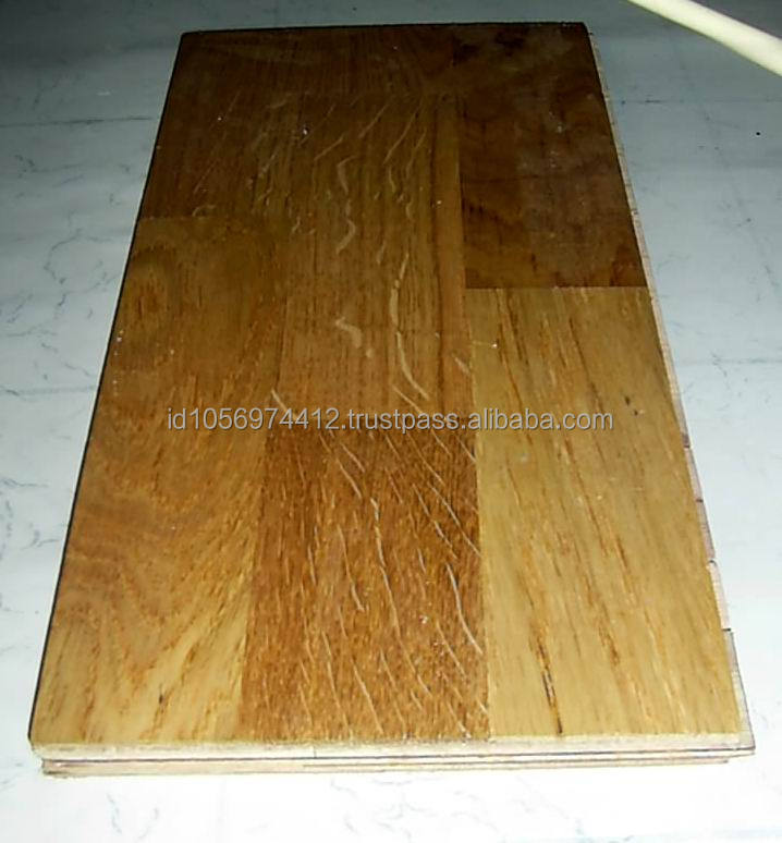 Beautiful Teak Solid Wood Parquet Flooring - Wood Deck Tiles from Indonesia