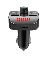 GXYKIT New G15 bluetooth car charger wireless fm transmitter handsfree car kit stereo mp3 player