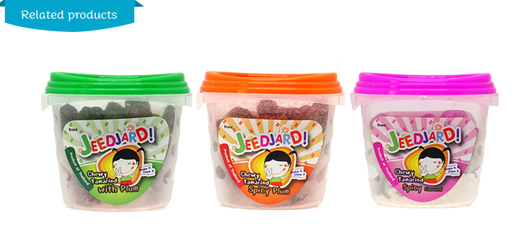 Sweet Tamarind Candy 75% Natural Premium Chewy Fruit Coated with Plum Powder Product from Thailand Bulk Cheap