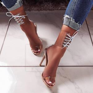 9efe9336d91 T10873 Summer Sandals Ladies Block High Heel Women Shoes