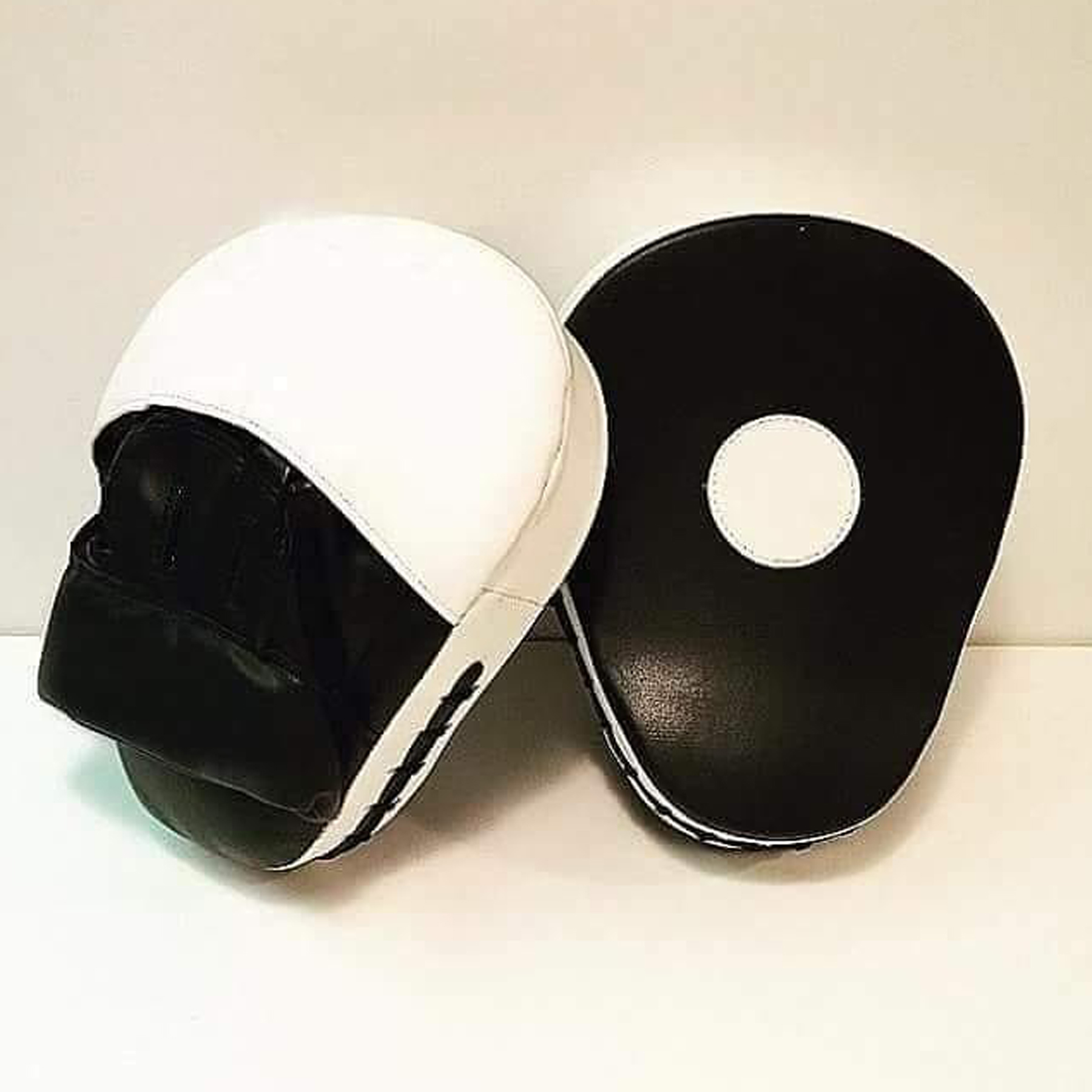 Large Kick Boxing Strike Curved Thai Pad MMA Focus Muay Thai Punch Shield Mitts