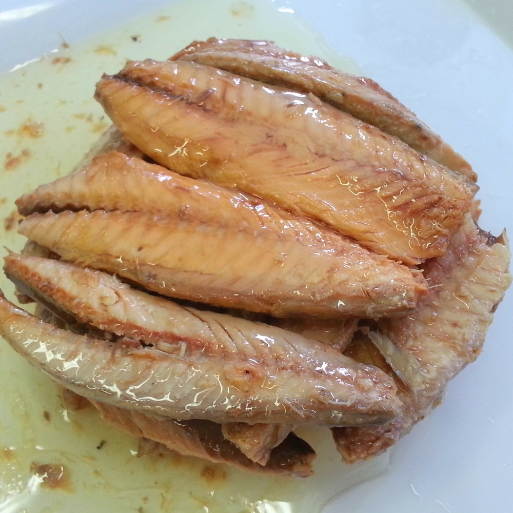 Canned Fish Jack Mackerel in Natural Oil for Sale