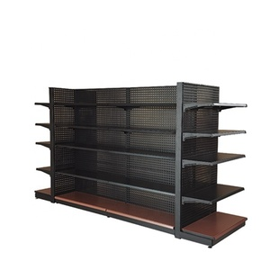 Competitive Price Customizable Supermarket Store Grocery Display Rack